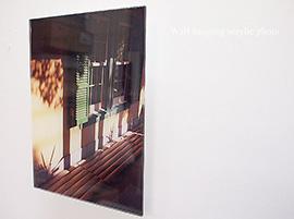 サンプル写真(壁掛けアクリルフォト)